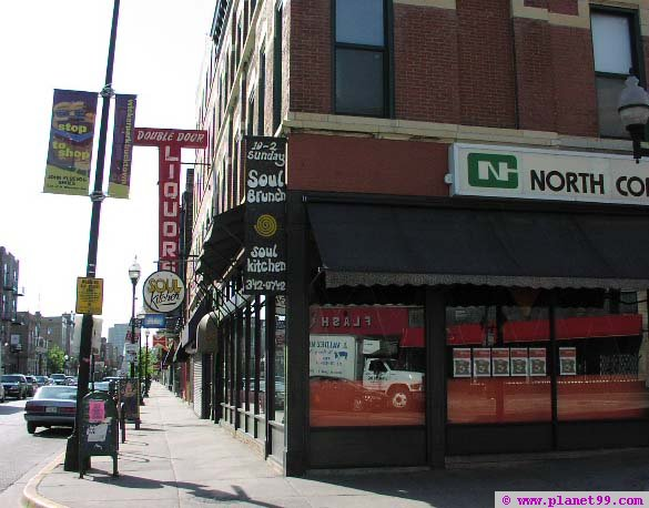 Chicago : Soul Kitchen (closed) with photo! via Planet99