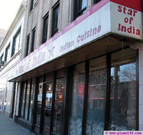 Star of India Restaurant , Chicago