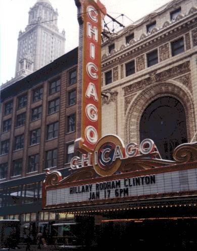Chicago Theater , Chicago
