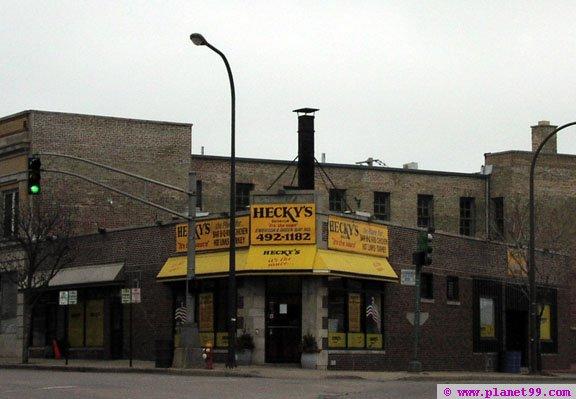 Evanston , Hecky's BBQ