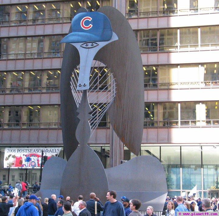 Daley Plaza , Chicago