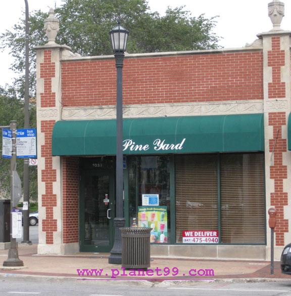 Pine Yard , Evanston
