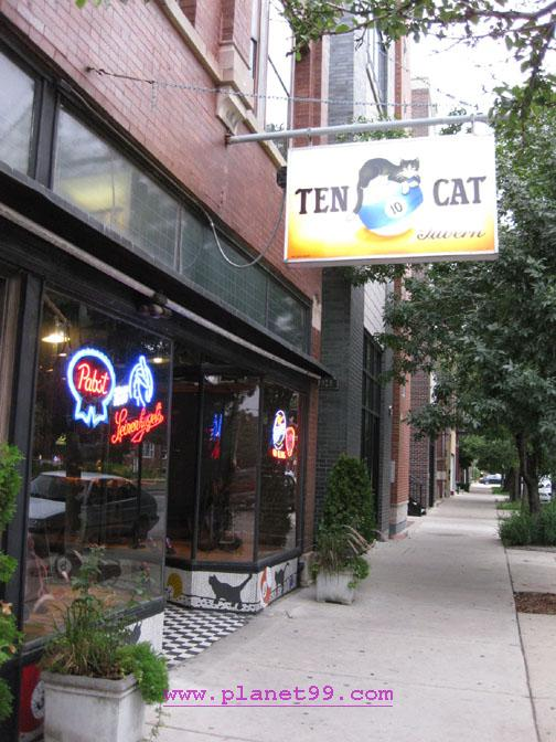 Ten Cat Tavern , Chicago
