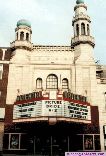 Milwaukee , Oriental Theater