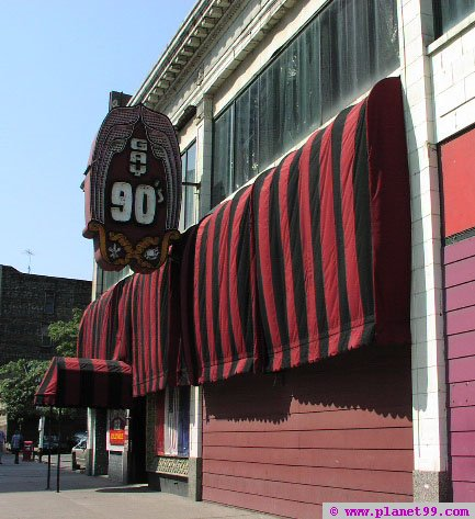 Minneapolis , Gay Nineties Theatre Cafe