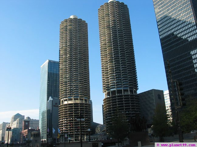 Marina City , Chicago
