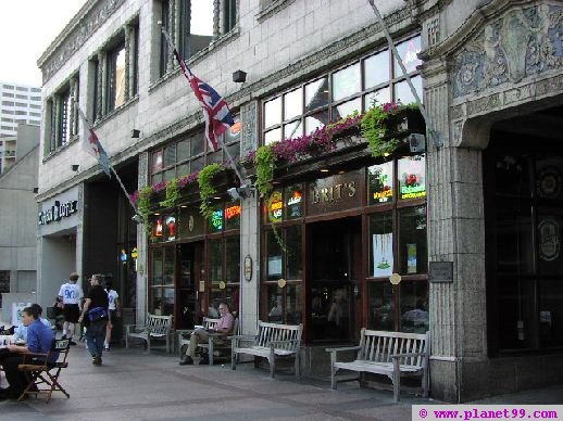 Minneapolis , Brit's Pub and Eatery