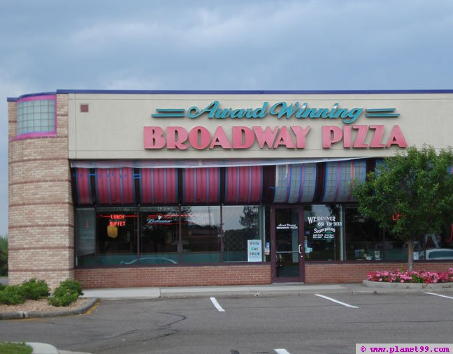 Broadway Pizza , St Paul