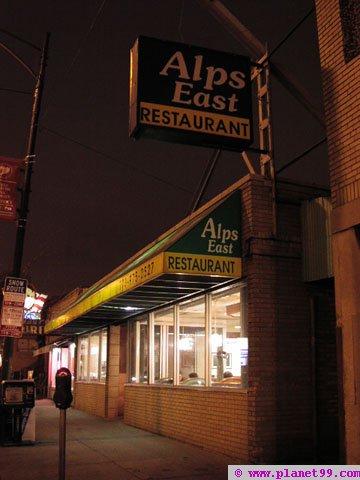 Alps East Restaurant , Chicago