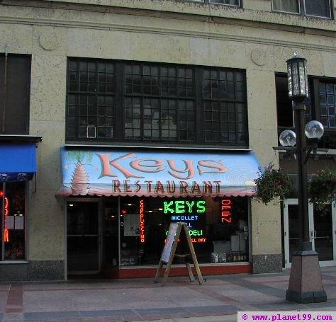 Key's Restaurant , Minneapolis