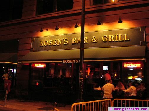 Minneapolis , Rosen's Bar and Grill