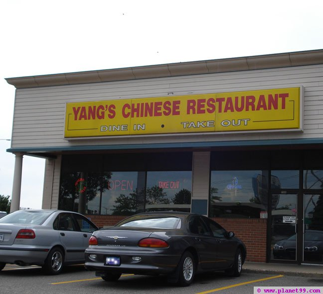 Yang's Chinese Restaurant , St Paul