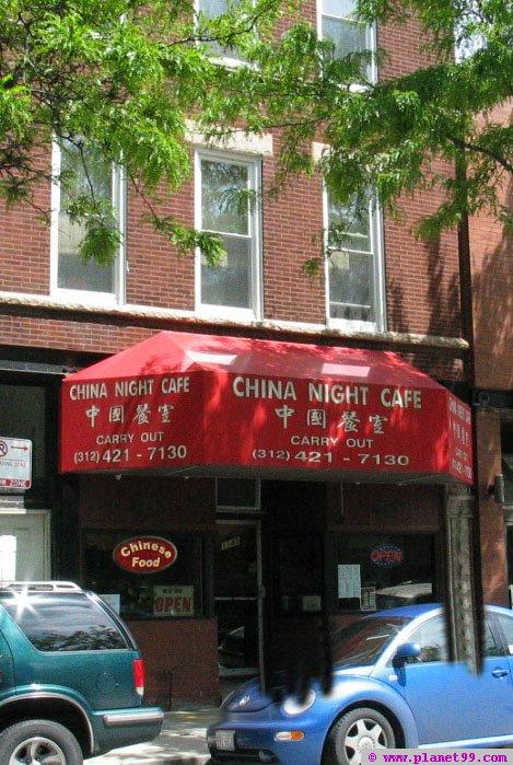 China Night Cafe , Chicago