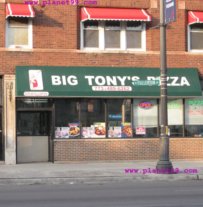 Big Tony's Pizza , Chicago