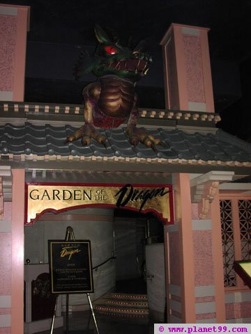 Las Vegas , Garden of The Dragon