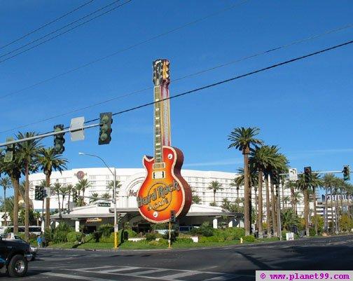 Hard Rock Cafe , Las Vegas
