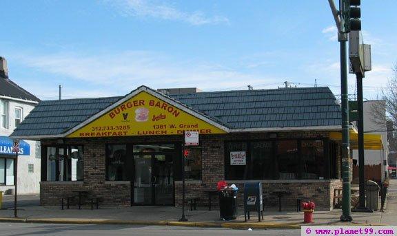 Burger Baron Restaurant , Chicago