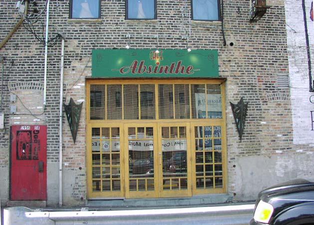 Chicago , Cafe Absinthe