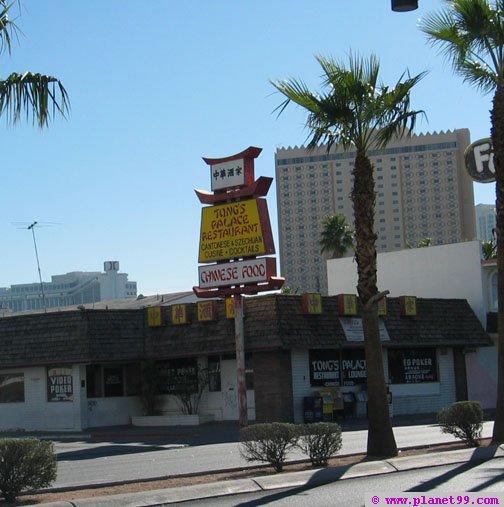 Tong's Palace Restaurant , Las Vegas