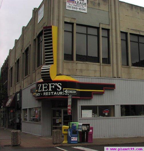 Detroit , Zef's Coney Island Restaurant