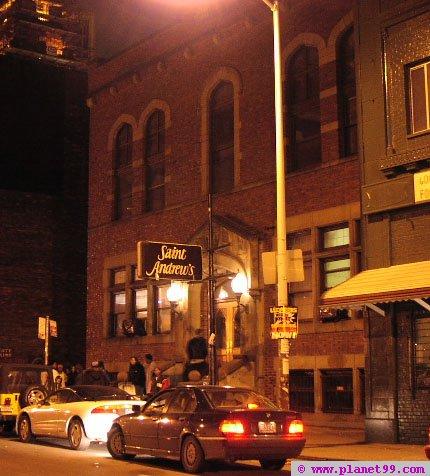 Detroit , St Andrews Hall