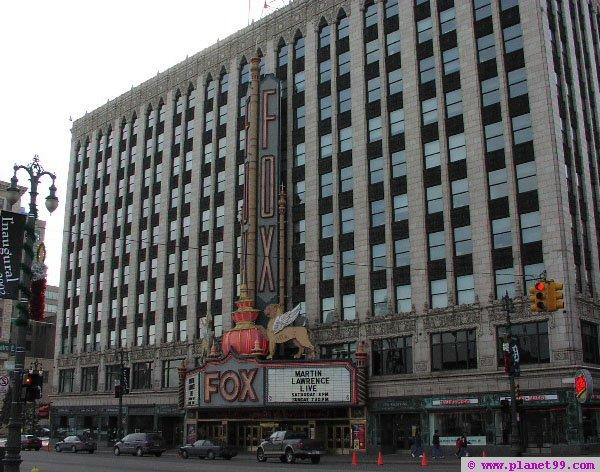 Detroit , Fox Theatre