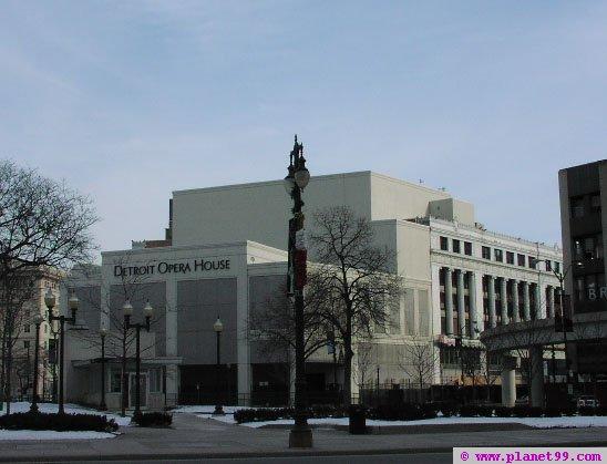 Detroit Opera House , Detroit