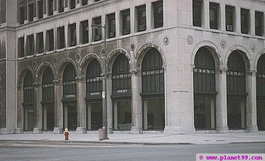 Detroit , General Motors Headquarters
