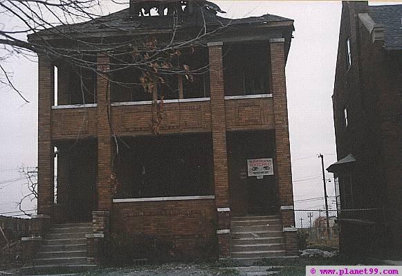 Detroit Abandoned Buildings  , Detroit