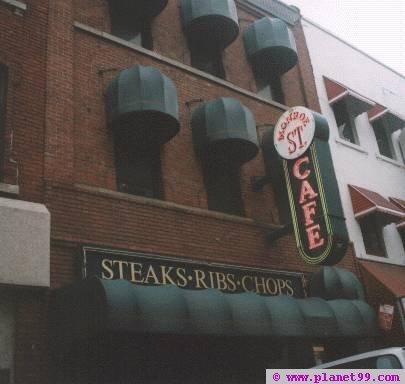 Detroit , Monroe Street Cafe
