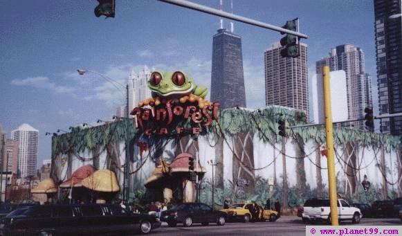 Chicago , Rainforest Cafe