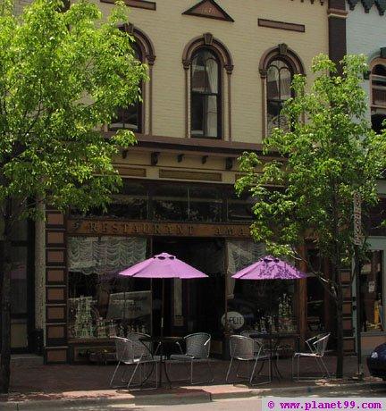 Amadeus Cafe , Ann Arbor