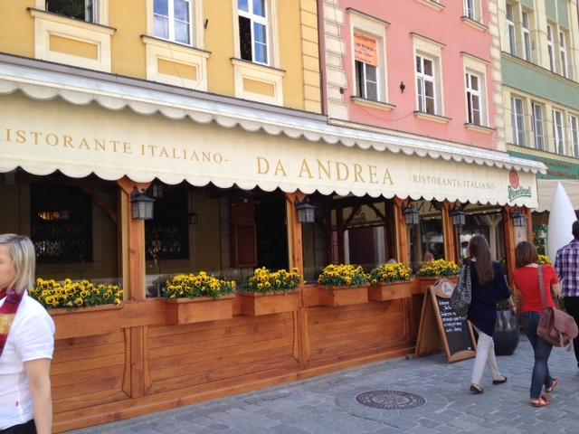 Da Andrea Restauracja, Wroclaw