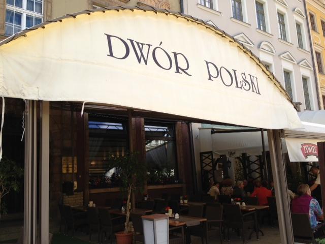 Dwor Polski Restauracja, Wroclaw