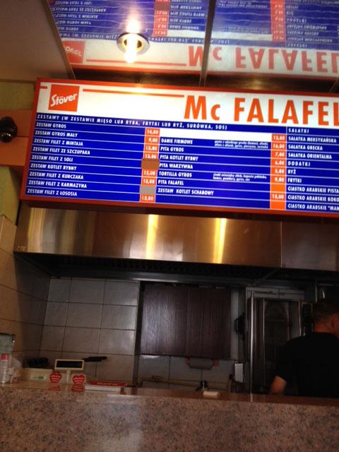 McFalafel, Wroclaw