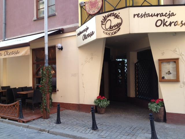 Restauracja Okrasa, Wroclaw
