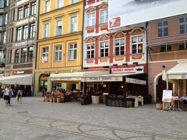 Planet Sushi, Wroclaw