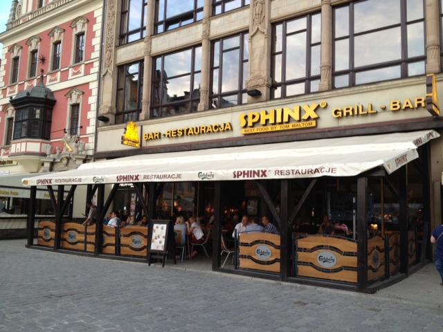 Sphinx Restaurant, Wroclaw