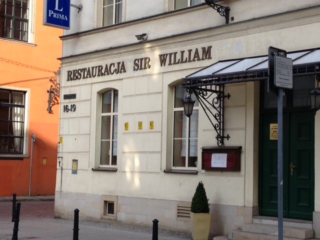 Sir William Restaurant, Wroclaw
